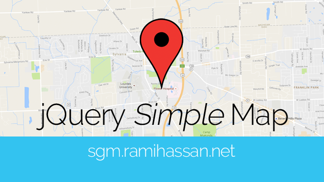 jQuery Simple Google Map